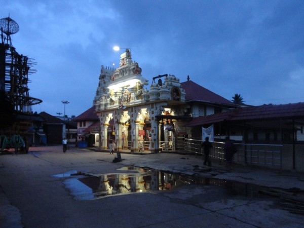 Udupi photos, Krishna Temple - Evening View