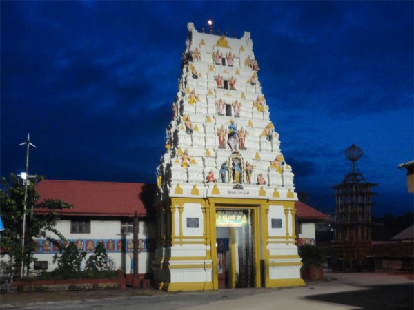 Udupi photos, Krishna Temple - Gopura