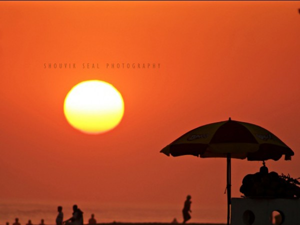 Puri photos, Sunset