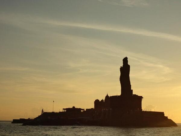 Kanyakumari photos, Sunset View