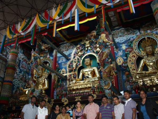 Coorg photos, The Idols at Bylakuppe
