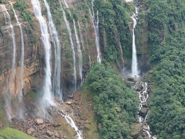 Cherrapunji photos, Nohkalikai Falls - Falls