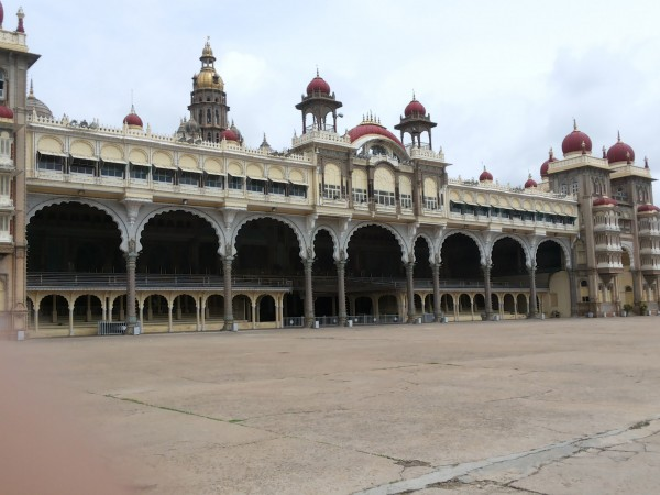 Mysore photos, Mysore Palace - Beautiful Arches