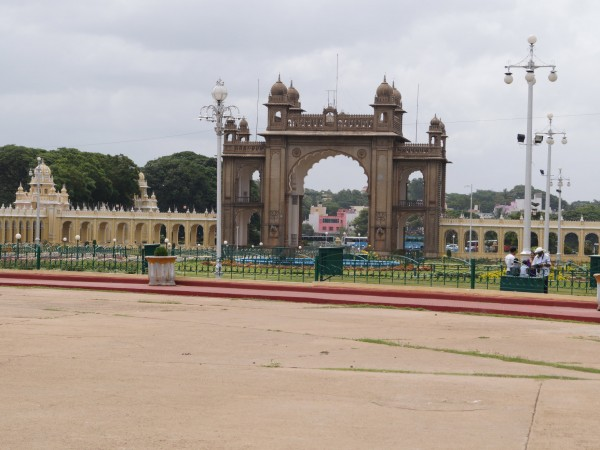 Mysore photos, Mysore Palace - Frontal View