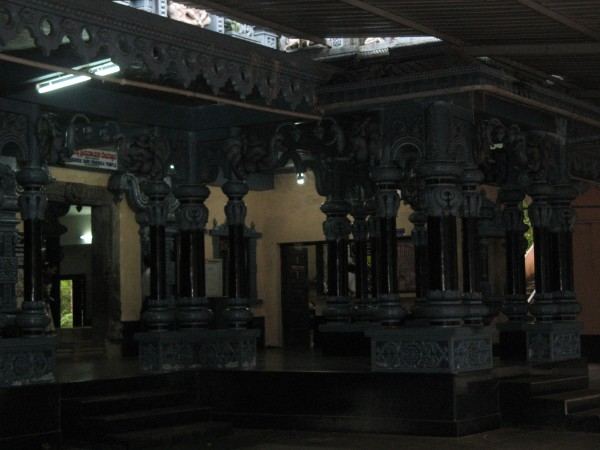 Maravanthe photos, Anegudde Vinayaka Temple - Interior View