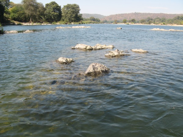 Bheemeshwari photos, Bheemeshwari Fishing Camp - Soaked Rocks