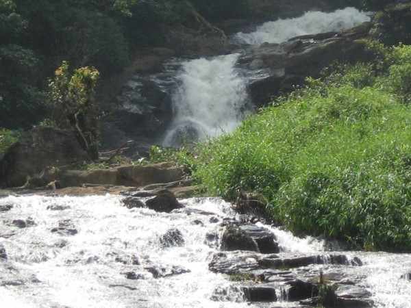 Coorg photos, Abbey Falls - Hurried Flow
