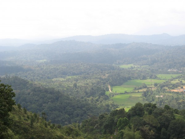 Coorg photos, Raja's seat - Sunrise