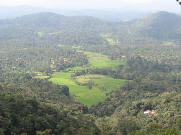 Coorg photos, Raja's seat - Sunset