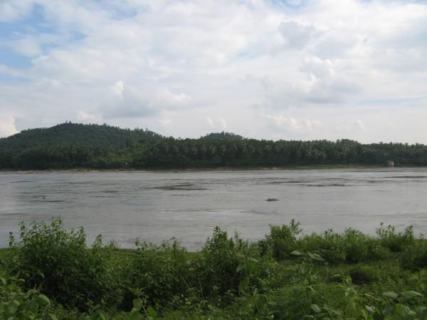 Dharmasthala photos, Netravati River Barrage - Netravati River
