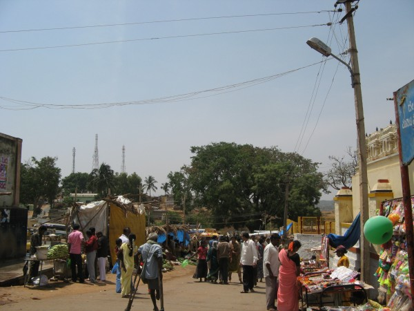 Ghati Subramanya photos, Street Shopping