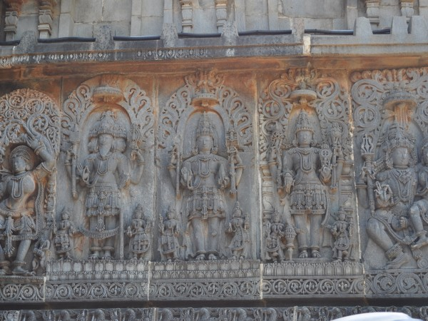Halebid photos, Hoysaleshwara Temple - Of Gods and Goddesses