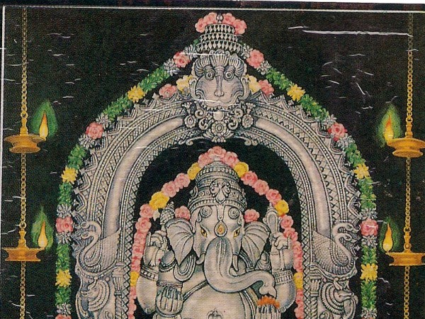 Udupi photos, Padubidri - Maha Ganapathi Temple - travel-padubidiri-idols