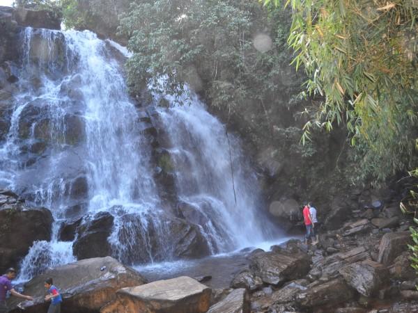 Sringeri photos, Sirimane Falls - DSC_0325
