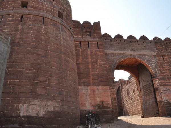 Pokhran photos, Fort Pokaran - DSC_0564