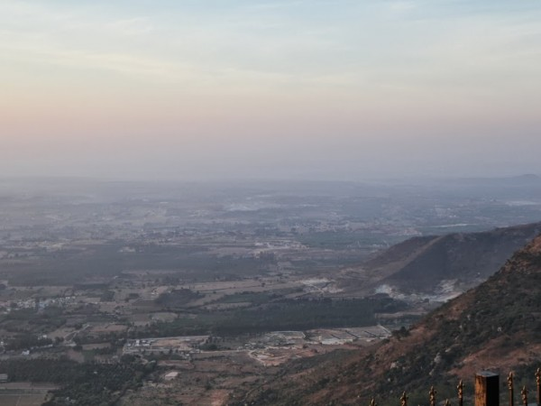 Nandi Hills photos, A panoramic view from the hills