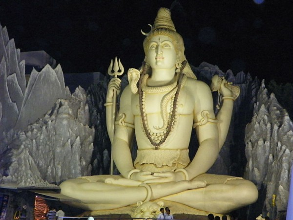 Bangalore photos, Kempfort Shiva Temple - Night view