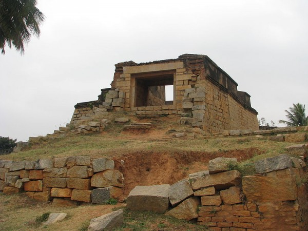 Bangalore photos, Devanahalli Fort - stone