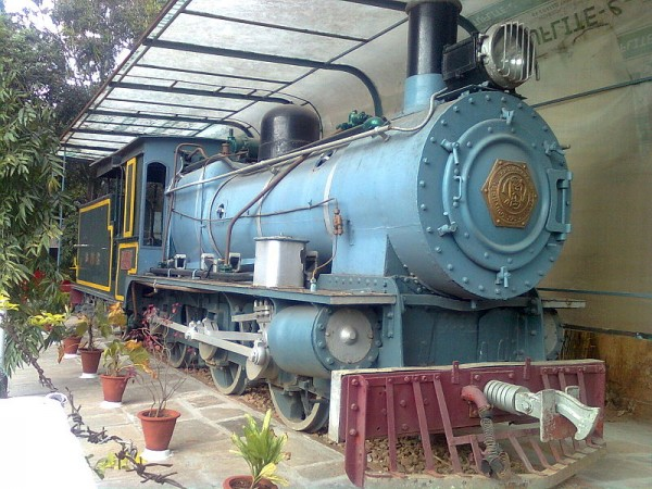 Bangalore photos, Visvesvaraya Industrial and Technological Museum - Train