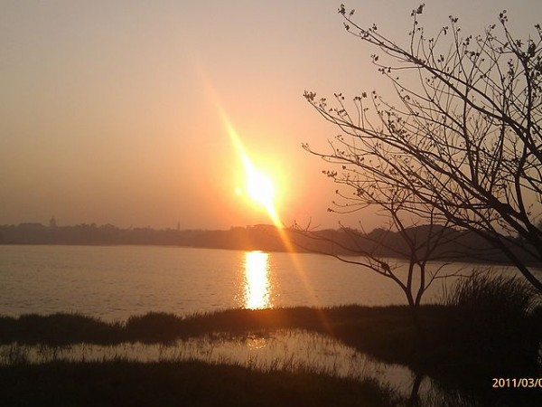 Mysore photos, Kukkarahalli Lake - Sunset