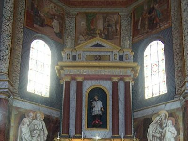 Mangalore photos, St. Aloysius Chapel - inside view