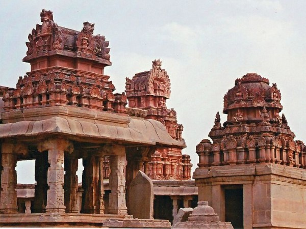 Hampi photos, Sri Krishna Temple - Upper view