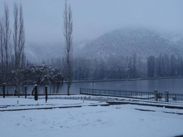 Srinagar photos, Misty Morning