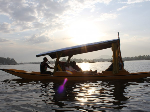 Srinagar photos, Dal Lake - Golden Sunset