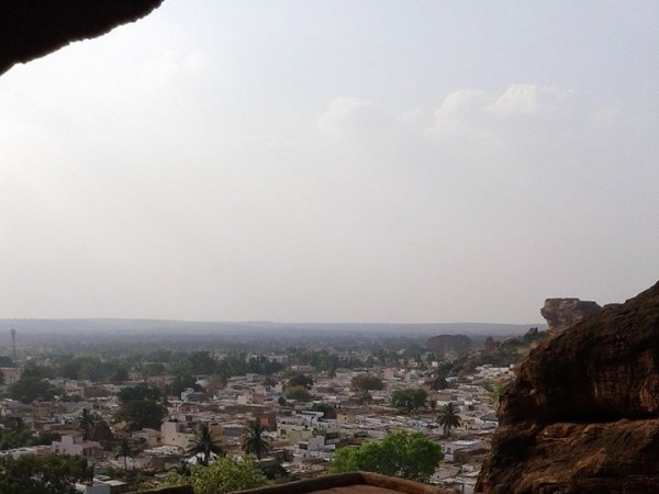 Badami photos, A Distant view