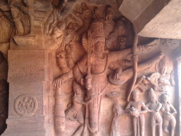 Badami photos, sculpture