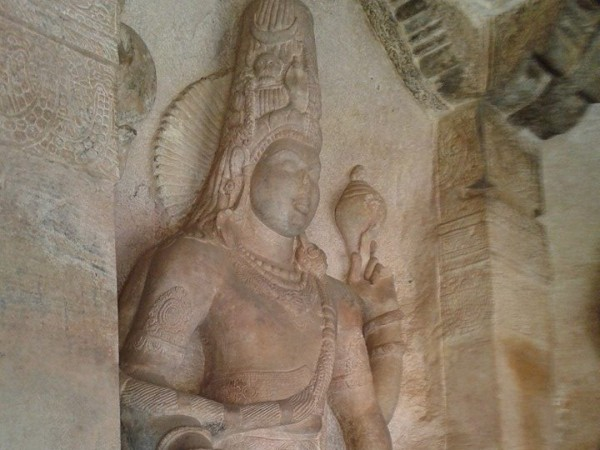 Badami photos, sculpture1