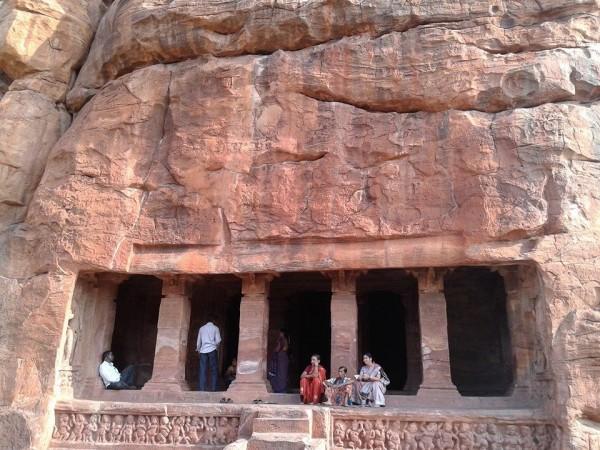 Badami photos, Cave