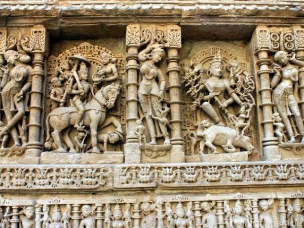 Patan photos, Rani ki Vav -Stone Structure