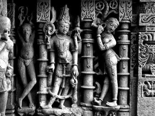 Patan photos, Rani ki Vav - Stone Structure