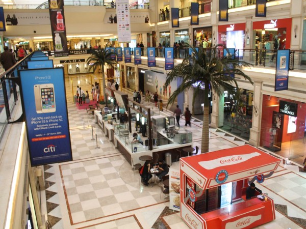 Delhi photos, Shopping in Delhi - DLF-Promenade Mall-8