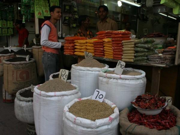 Delhi photos, Shopping in Delhi - Khari Babli-3