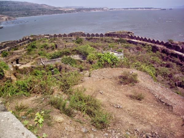 Murud Janjira photos, Janjira Fort - Side View