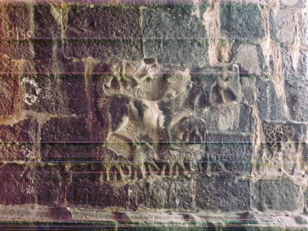 Murud Janjira photos, Janjira Fort - Stone carving