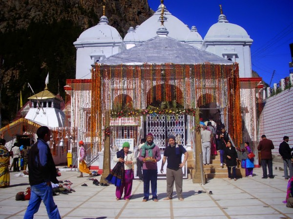 Gangotri photos, Gangotri Temple -  A Beautiful View of the Temple