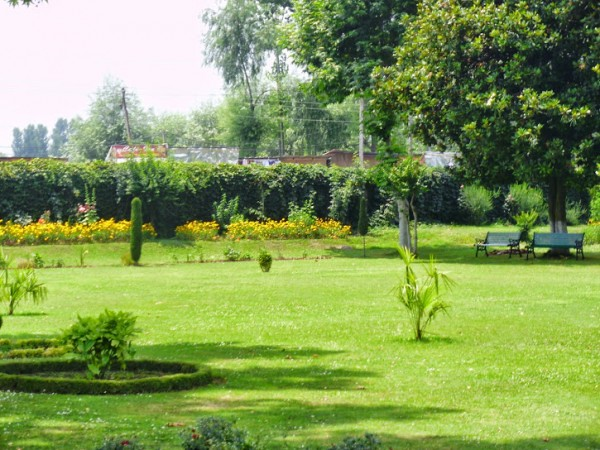 Srinagar photos, Shalimar Gardens - Garden View