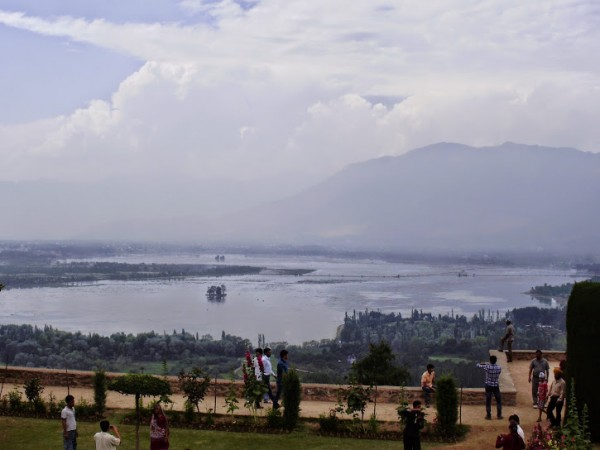 Srinagar photos, Pari Mahal - Distant View of the Palace