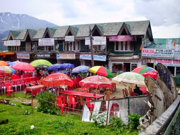 Gulmarg photos, Punjabi Daba's near by Peaks