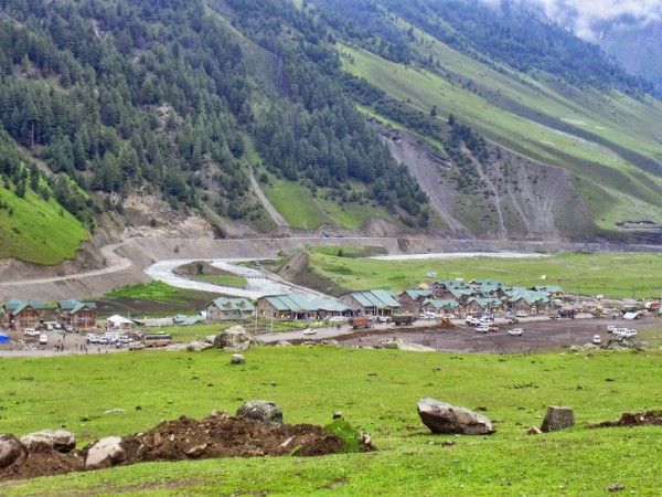 Sonamarg photos, Distance View