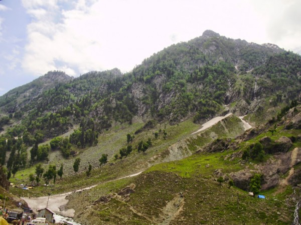 Pahalgam photos, Aru - Peak View