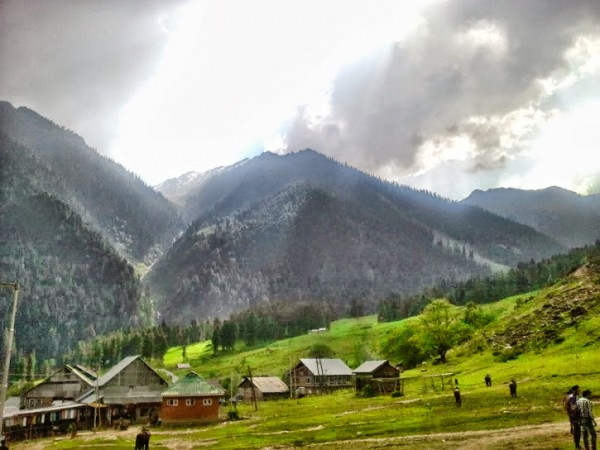 Pahalgam photos, Aru - Valley in pahalgam