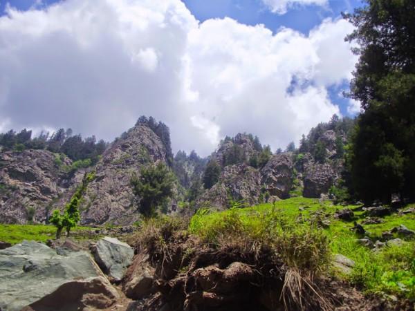 Pahalgam photos, Betaab Valley - Distance View