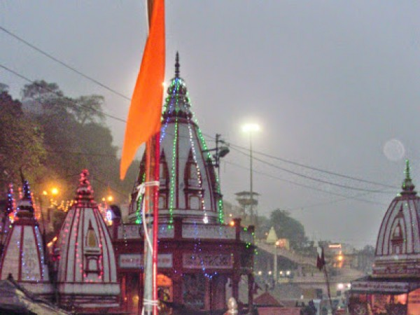 Haridwar photos, Maya Devi Temple - Temple Side