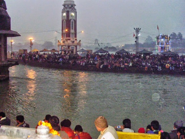 Haridwar photos, Har Ki Pauri - Evening aarti