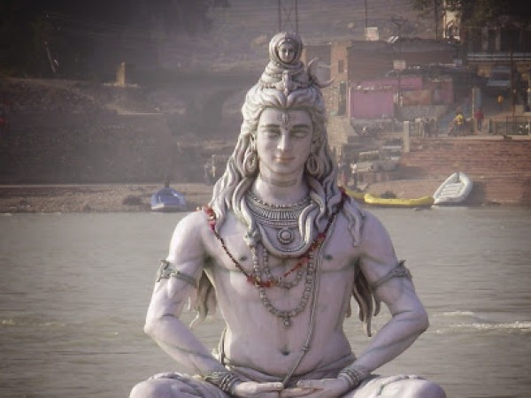 Rishikesh photos, Lord Shiva statue at Rishikesh