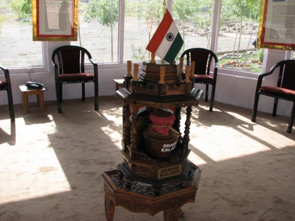 Delhi photos, Shahid Kalash in the Small museum in Vijay Path